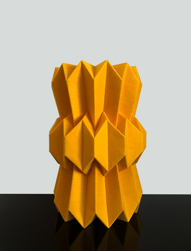 Rang-Rang lighting collection in Yellow by Mojiana