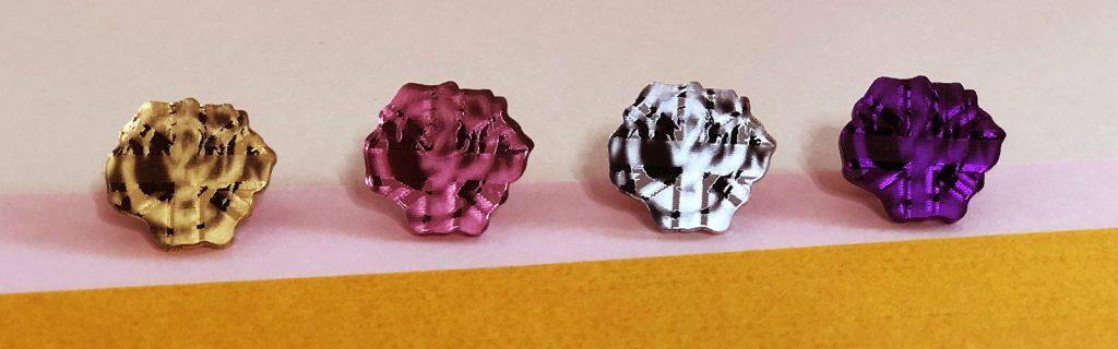 Acrylic Jewellery by Mojiana, Roses